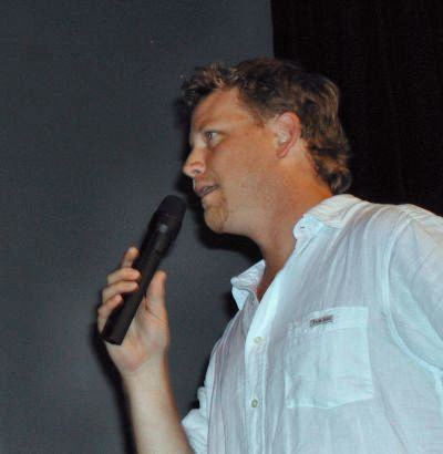 RDM onstage during the opening ceremonies at FedCon10