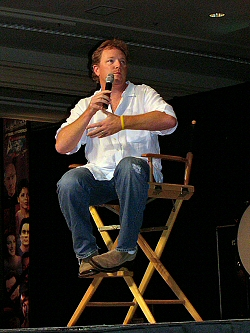 RDM onstage at Creation's 2005 Official Star Trek Event in Las Vegas