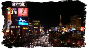 Viva Las Vegas!  The Strip at night!