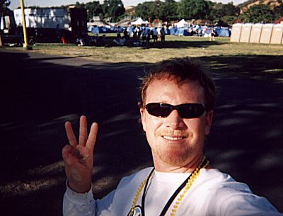 RDM on Day Three of the Calfornia AIDSRide