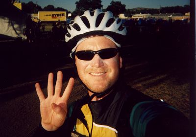 RDM on Day Four of the California AIDSRide