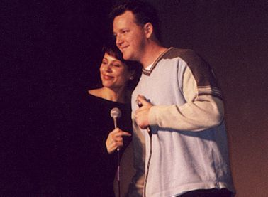 RDM and Roxann Dawson onstage at Creation Sacramento